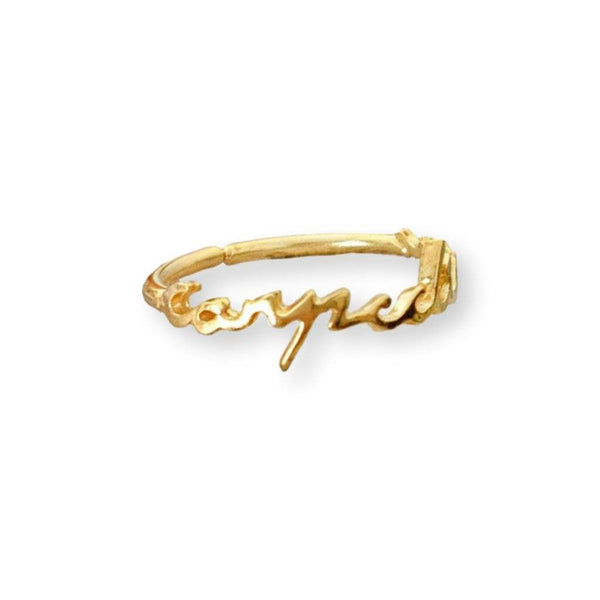 Carpe Diem Ring Ring by Jasmin Gold