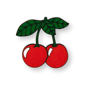 Cherry Pin Brooch Yes Please!