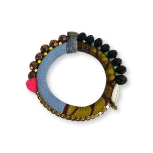 Diyen Bracelet Bracelets Toubab Paris Brown & Green