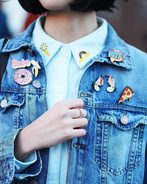 Donut Pin Brooch Yes Please!
