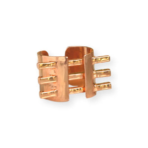Double Square Rod Ring Ring Malvika Vaswani