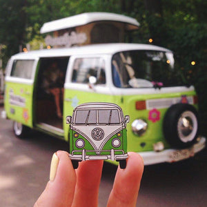 Hippie Van Pin Brooch Yes Please!