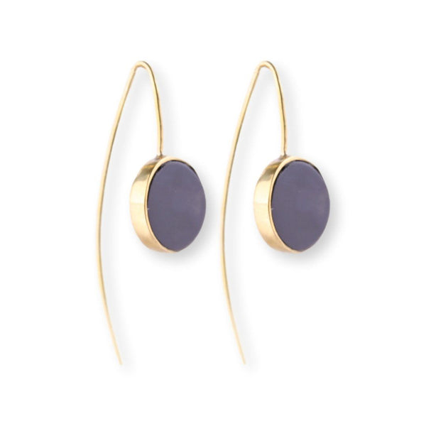 Horn Dot Earrings Earrings Soko