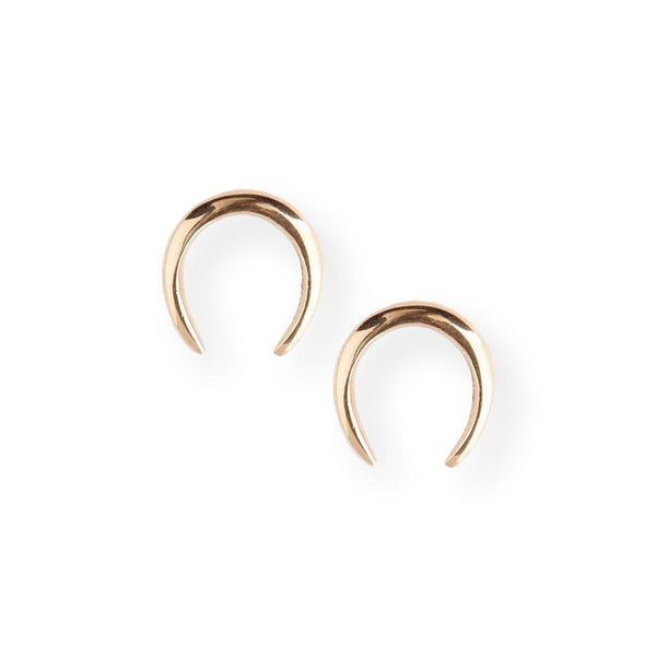 Horseshoe Studs Earrings Soko