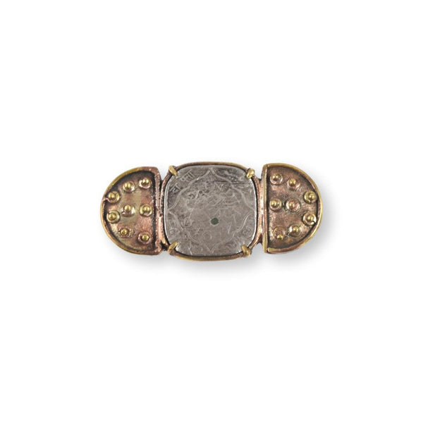 Large Coin Ring Ring Chicory Chai