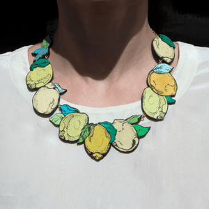 Lemon Necklace Necklace Rosita Bonita