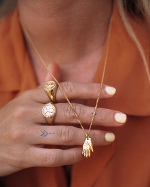 Mano Amiga Necklace Necklace Luna & Rose