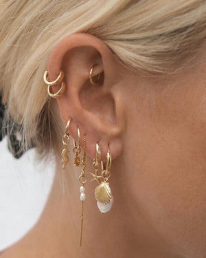 Mix & Match Hoops Earrings S-kin Studio
