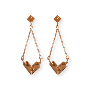 Mortise Tenon Dangler Earrings Earrings Malvika Vaswani