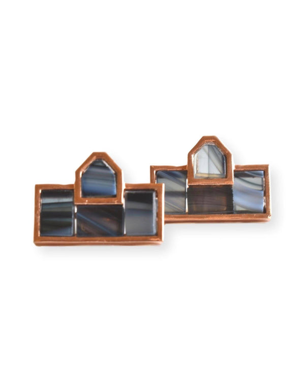 Mosaic Stud Earrings Earrings Malvika Vaswani