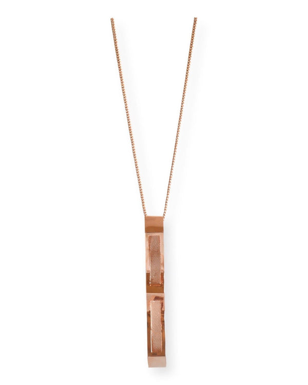 Open Triangle Pendant Necklace Malvika Vaswani
