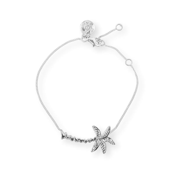 Palm Tree Bracelet Bracelet by Jasmin Silver