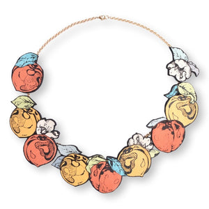 Peach Feast Necklace Necklace Rosita Bonita