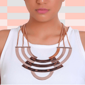 Radial Necklace Necklace Malvika Vaswani