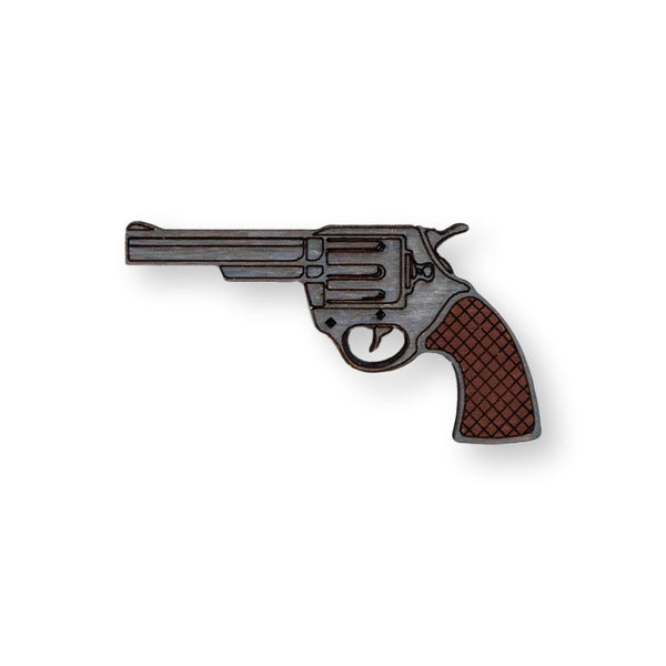 Revolver Pin Brooch Yes Please!