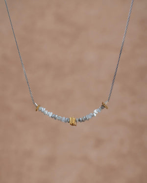 Rough Diamonds Necklace Necklace Leeloo Bird