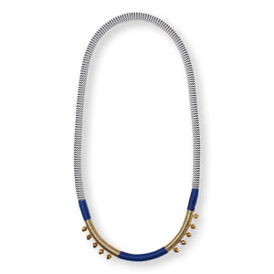 Royal Blue Bells Necklace Necklace Pichulik