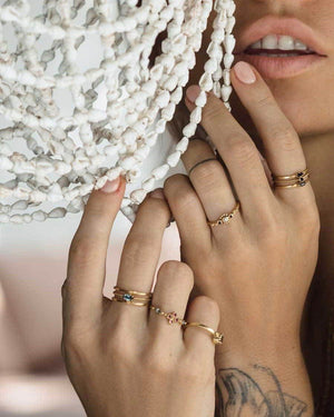 Salt Lover Ring Ring Monsieur Blonde Jewels