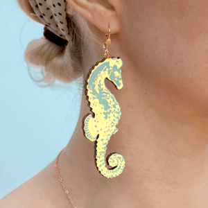 Seahorse Earrings Earrings Rosita Bonita