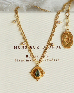 Tiny Atoms Necklace Set Set Monsieur Blonde Jewels
