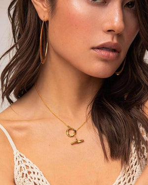 Twist Lariat Necklace Necklace Soko