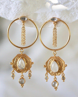 Two Souls Earrings Earrings Monsieur Blonde Jewels