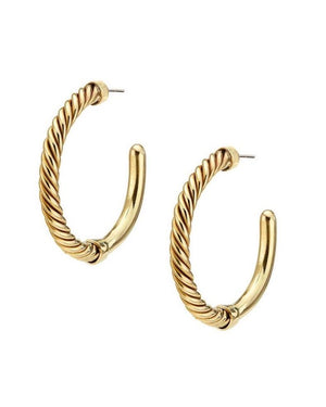 Uzi Hoop Earrings Earrings Soko