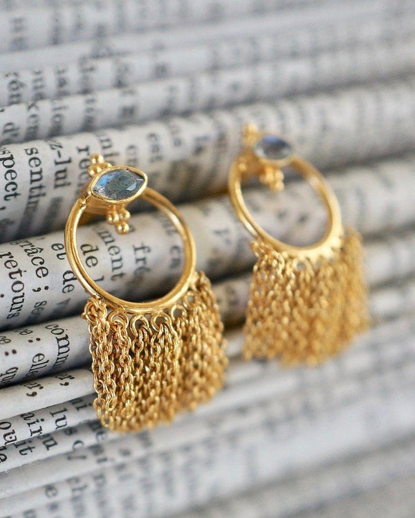 Wander Earrings Earrings Monsieur Blonde Jewels
