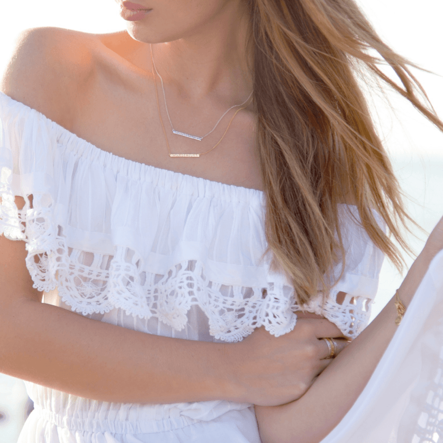 Wanderlust Necklace Necklace by Jasmin
