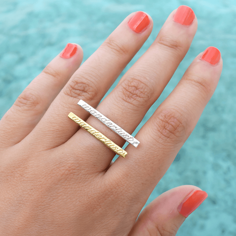 Wanderlust Ring Ring by Jasmin Gold