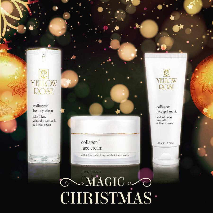 Merry Christmas from Yellow Rose Cosmetics UK - 10% Discount