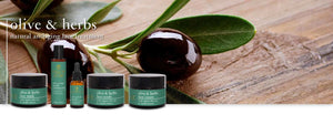 OUR NEW OLIVE & HERB FACIAL RANGE NOW AVAILABLE IN OUR ONLINE STORE!