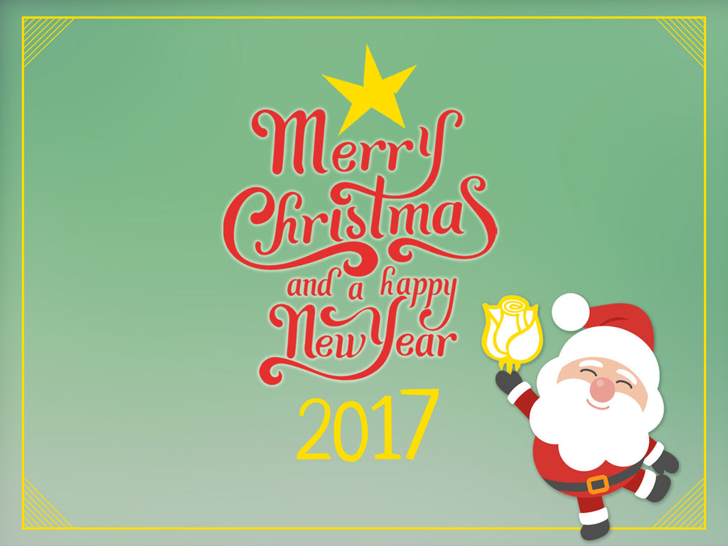 Merry Christmas & Best Wishes for 2017