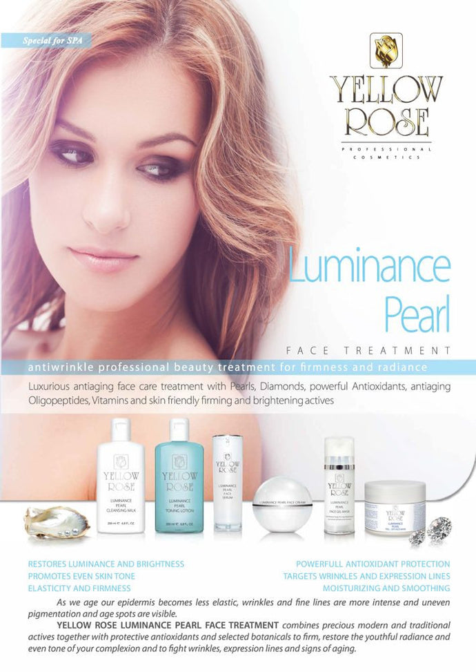Yellow Rose Luminance Pearl - Professional Anti-aging Treatment provide Firmness & Radiance