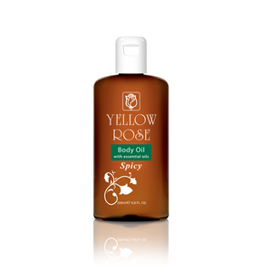 BODY OIL with essential oils SPICY - 200ml