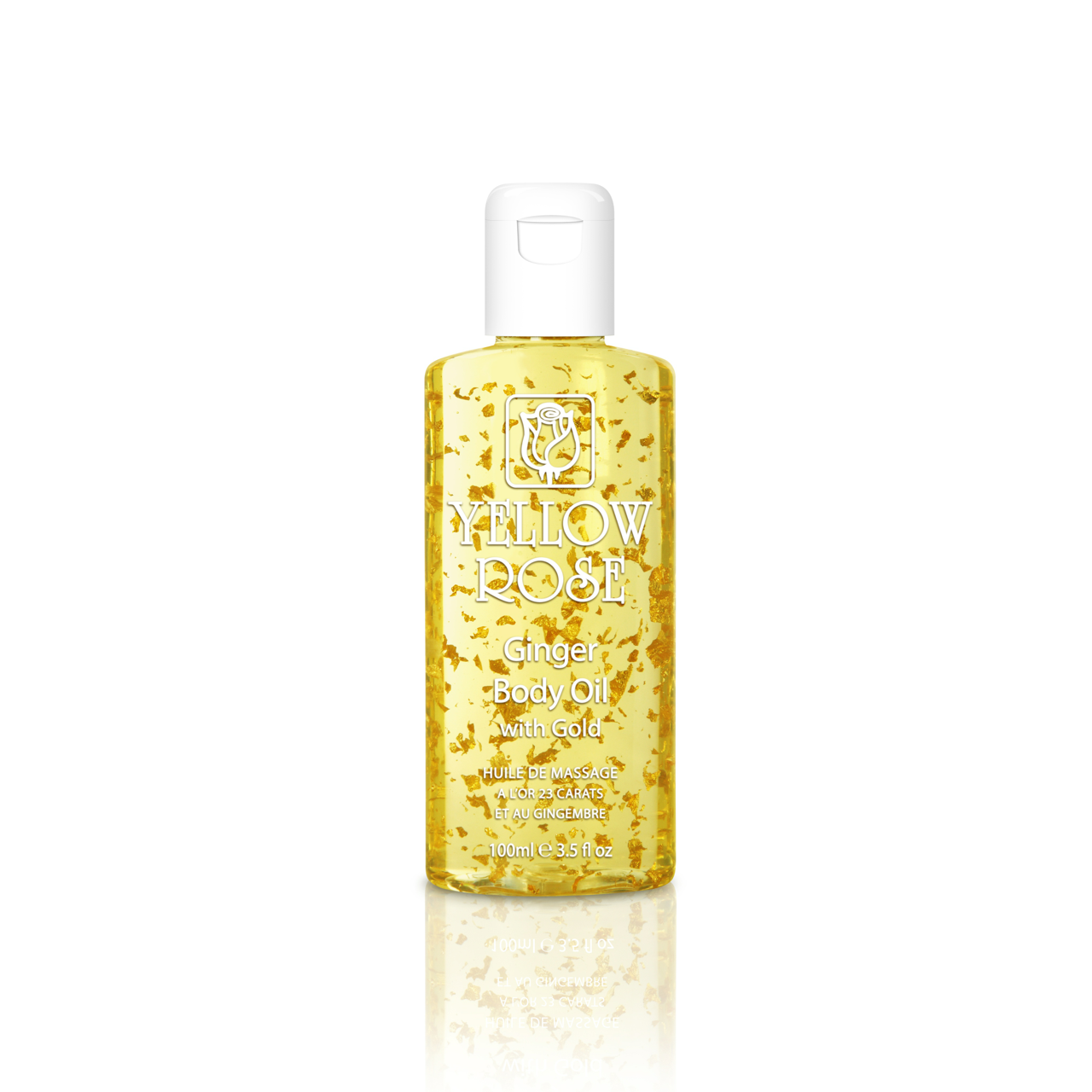 GOLDEN LINE GINGER BODY OIL with GOLD