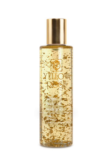 GOLDEN LINE - GINGER BODY OIL with GOLD - 100ml & 200ml