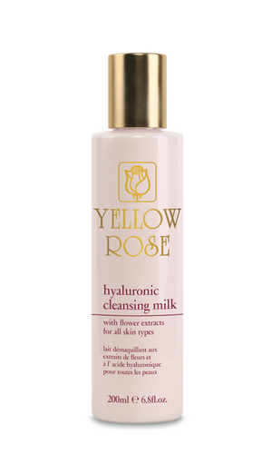 HYALURONIC CLEANSING MILK with Flower Extracts - 200ml