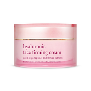 HYALURONIC FACE FIRMING CREAM with Oligopeptides and Flower extracts - 50ml
