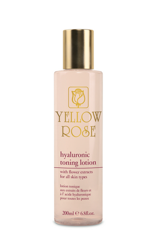 HYALURONIC TONING LOTION with Flower Extracts - 200ml