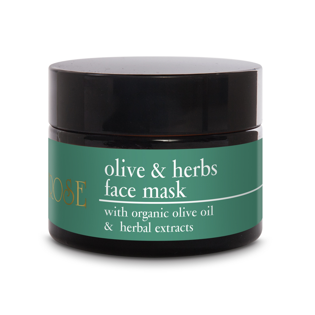 OLIVE & HERBS FACE MASK - 50ml