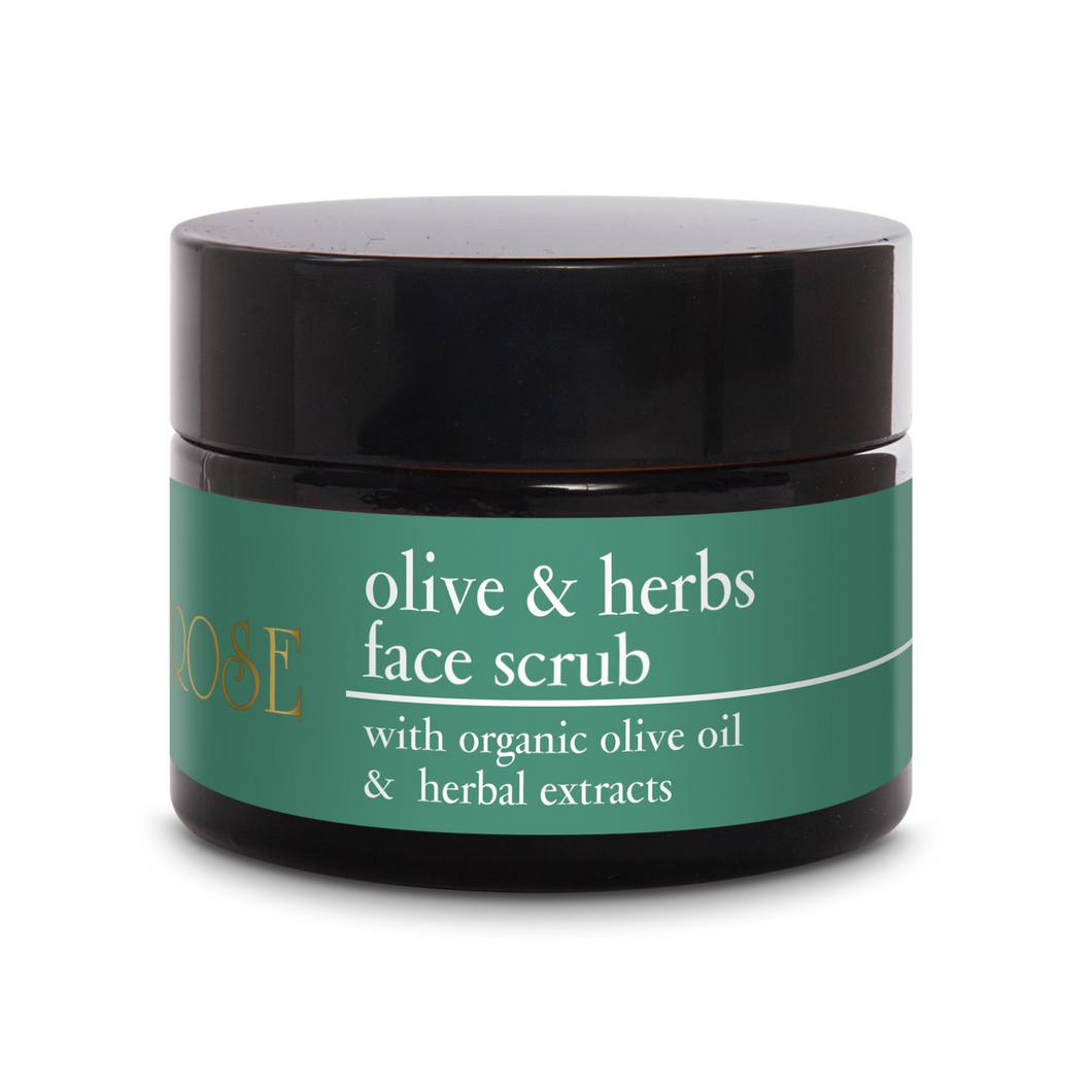OLIVE & HERBS FACE SCRUB - 50ml