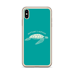TURTLE IPHONE CASE - TURQUOISE