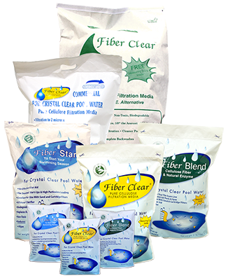 Fiber Clear for Pool filtration system