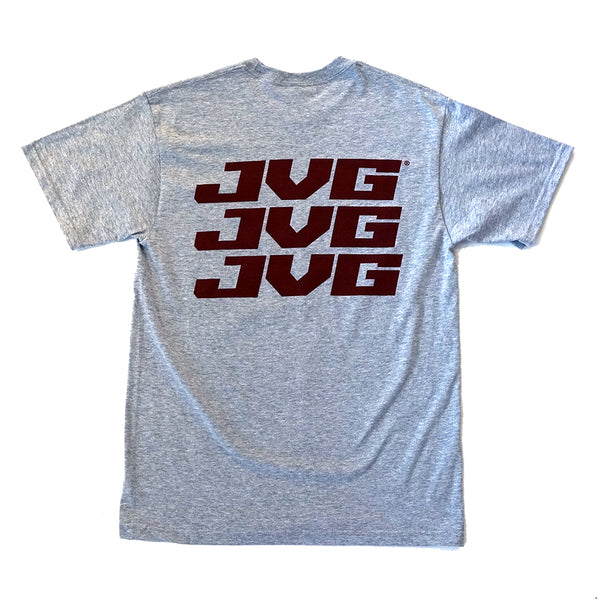 JVG Kids Maroon Block T-shirt