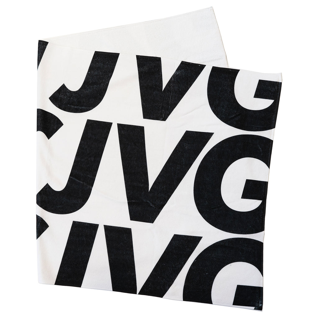 JVG Triple Logo Beach Towel