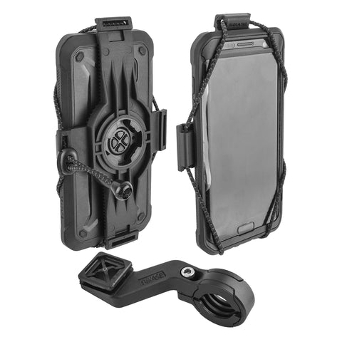 Hbar Bikase Elastokase Cell Phone Holder Universal Bk