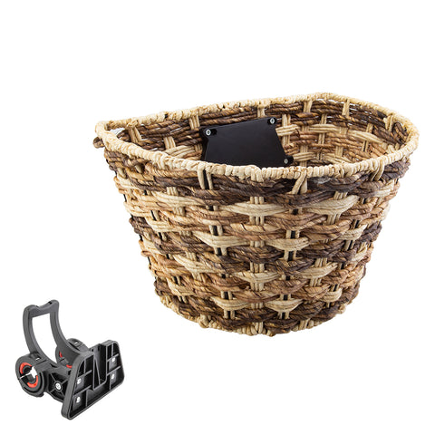 Basket Sunlt Ft Rope Color Wave Q-r Brn W-bracket