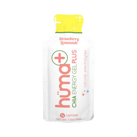 Food Huma Chia Energy Gel Plus Strawberry-lemonade Bxof24