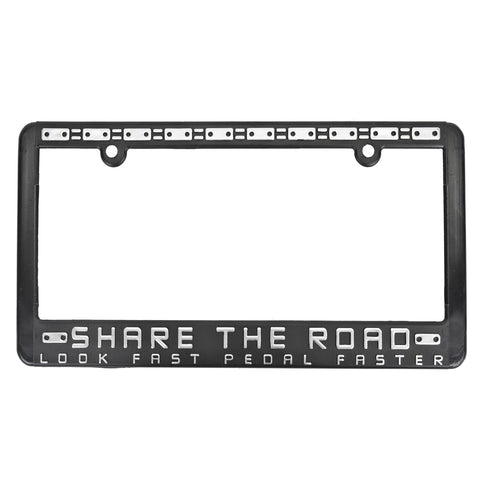 License Plate Frame Share-the Road